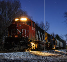 Back in December 2006, the New England Central southbound out of