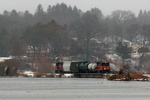 NR-2 crosses the inlet to Poquetanuck Cove, now spanning the Preston/Ledyard town line